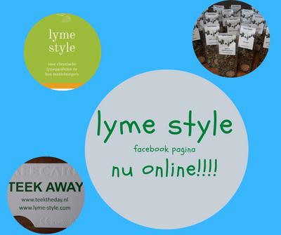 lyme style Facebook pagina nu online!!!