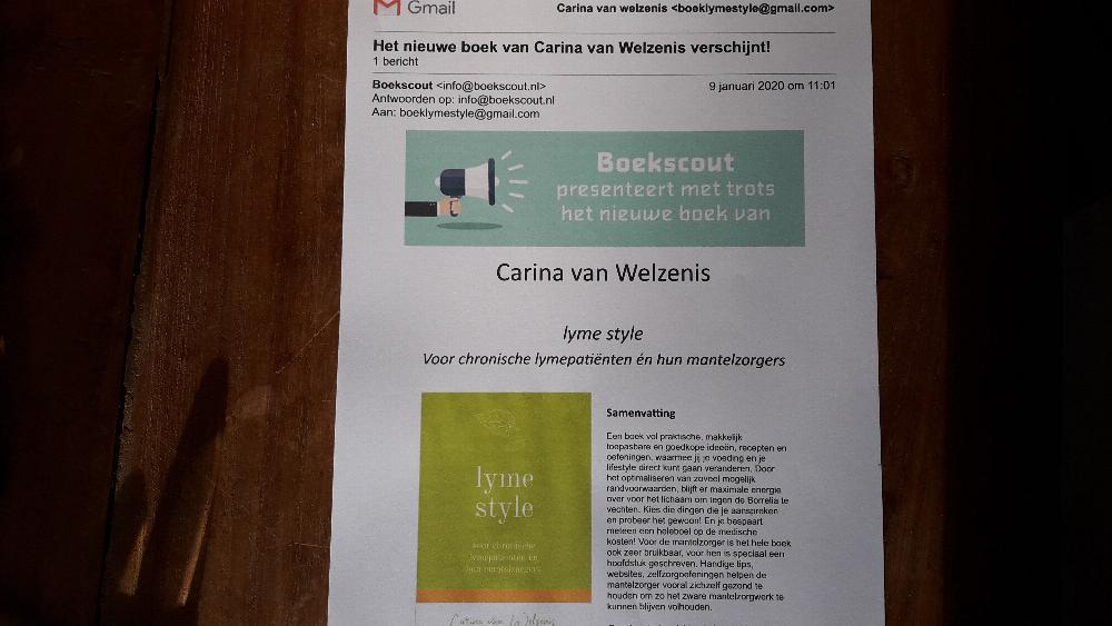Mijn boek is verschenen!